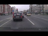 Авария на перекрестке Долгоозерная улица и Комендантский пр. 14 мая 2013 в 18:25